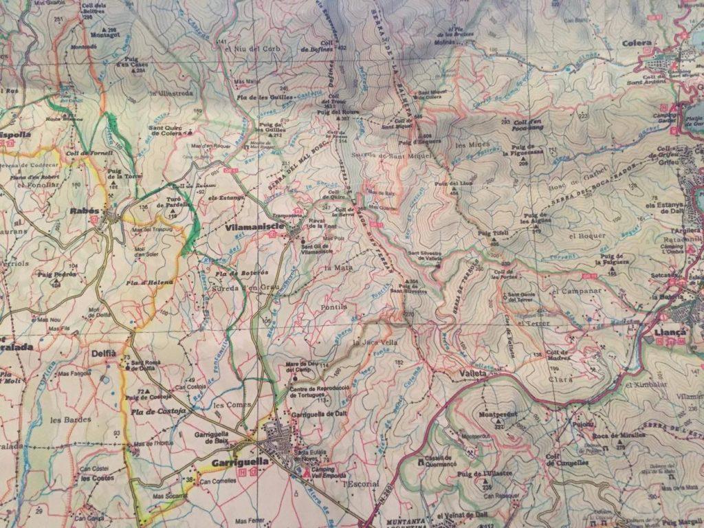 trekking asino Catalogna escursione