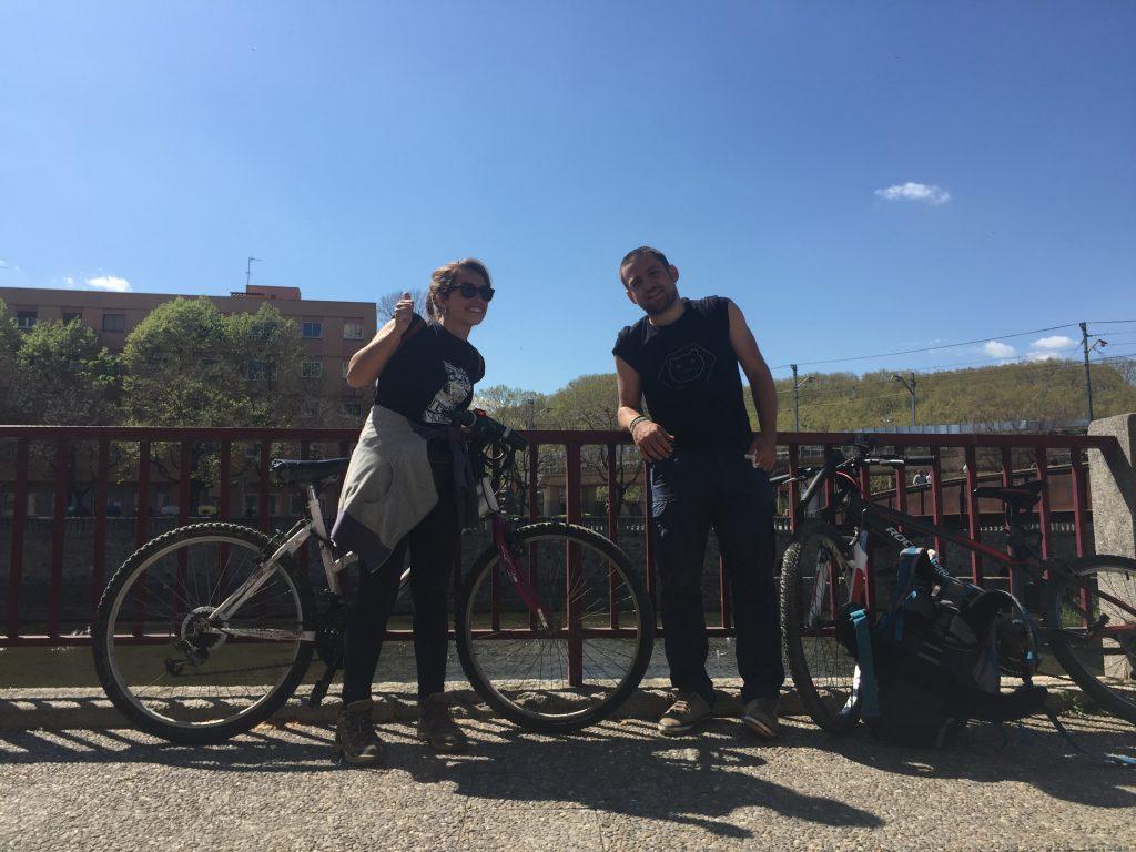 Girona fine della ruta del Carrilet