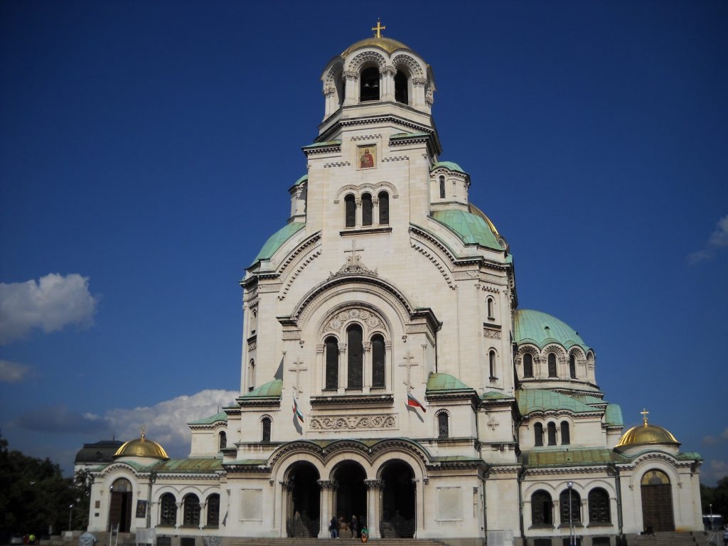 Chiesa Alexander Nevski Sofia Bulgaria