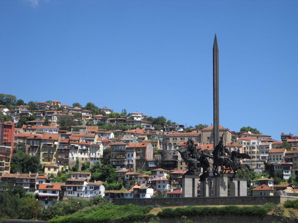 Asen's Monument veliko tarnovo