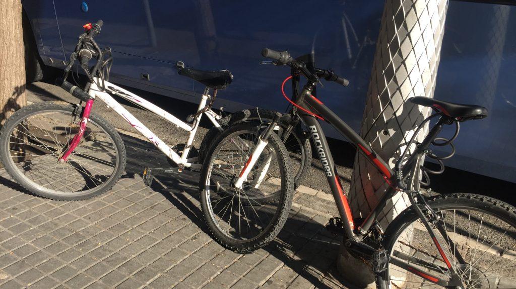 Itinerario in bici vicino Barcellona