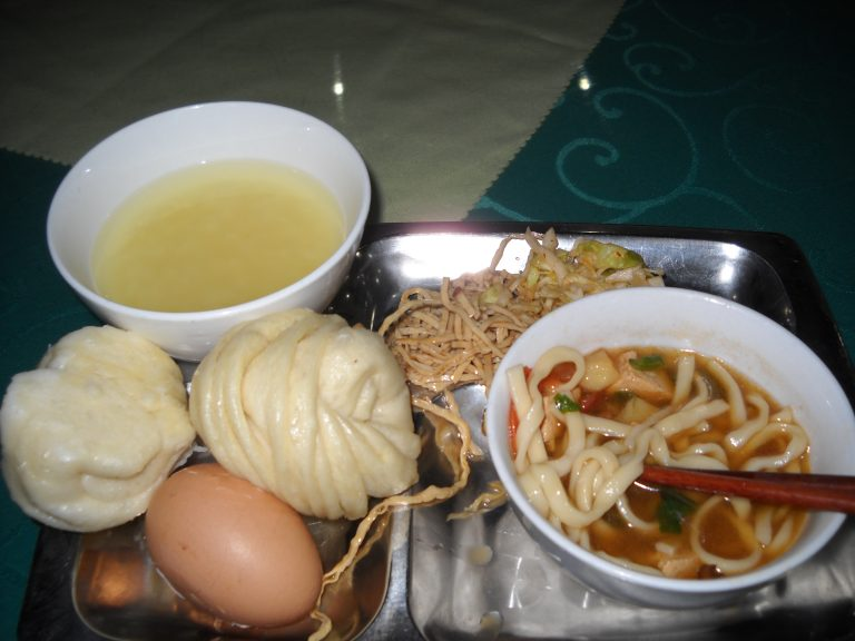 Mongolian breakfast