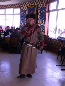 Mongolian showman