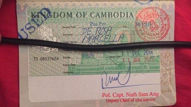 visa Cambogia