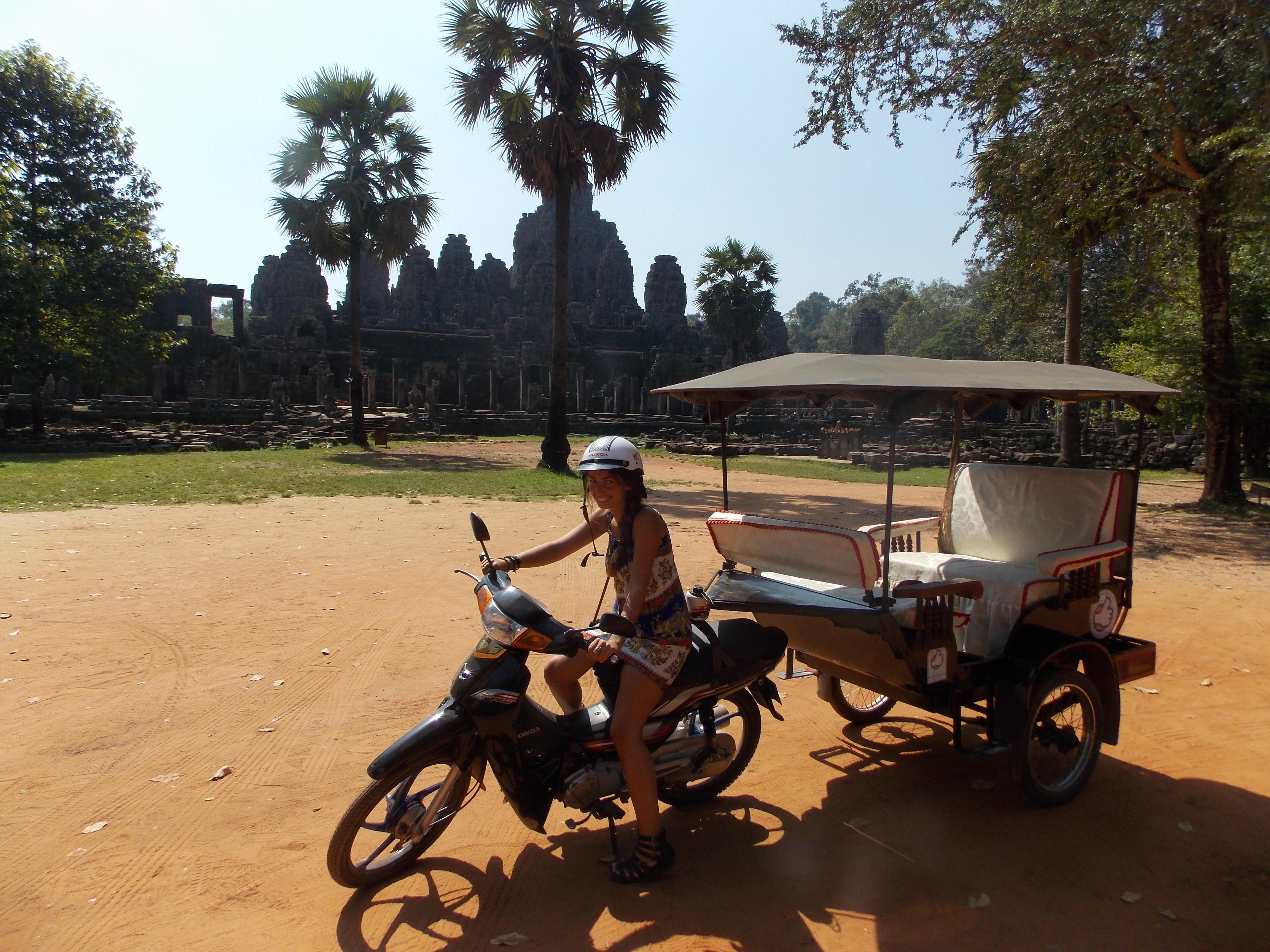 Angkor Wat in tuk tuk