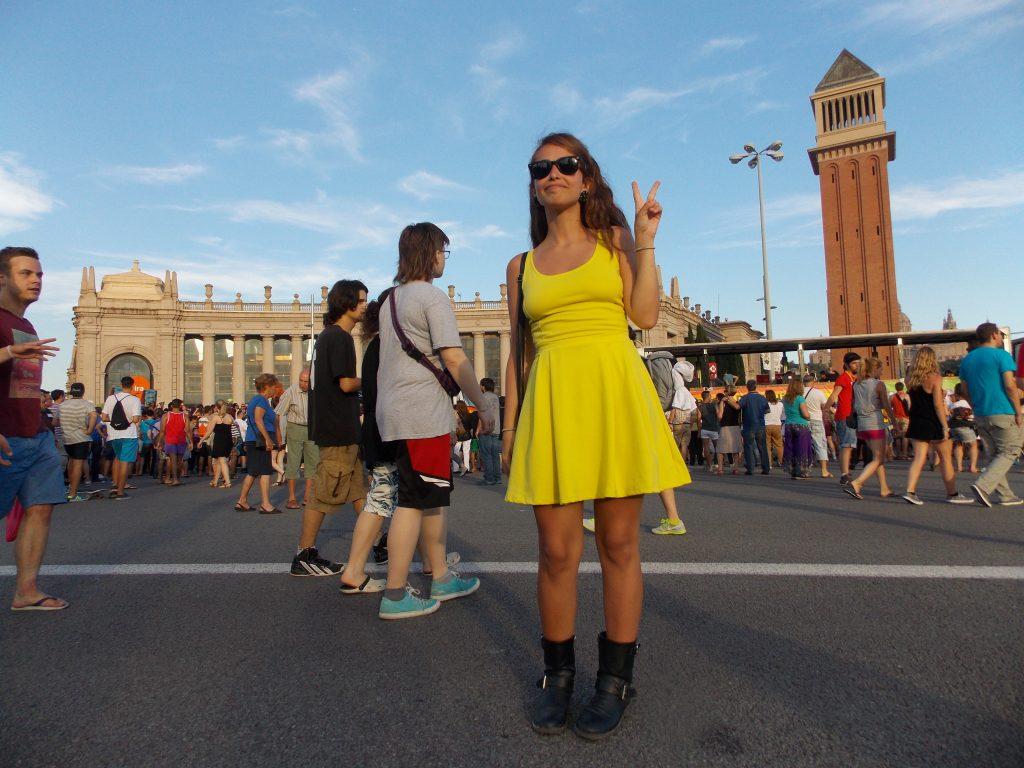 Piazza Espanya Barcellona