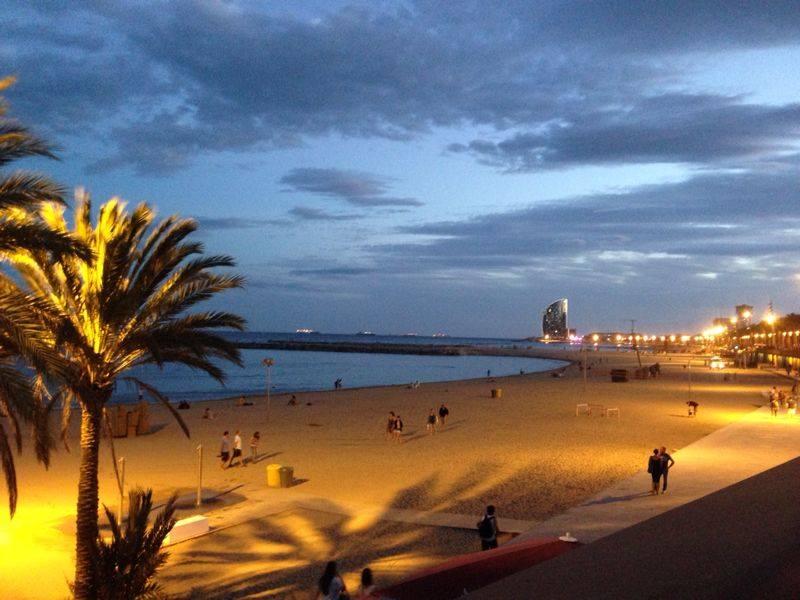 Barceloneta's beach