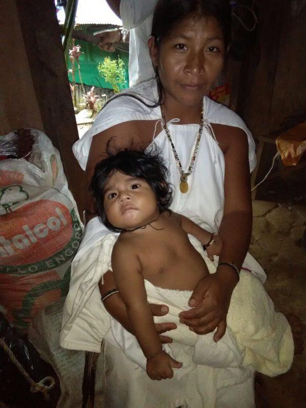 Arhuaca woman