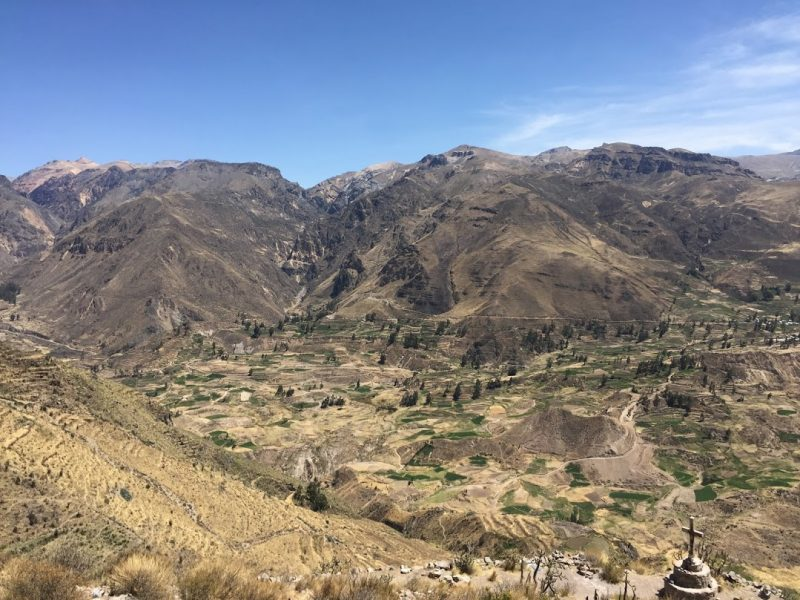 Colca Canyon altitude